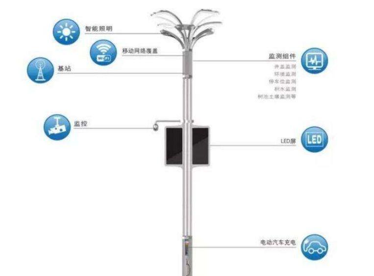 海纳天成智慧路灯投入使用,助力升级生态新城高密